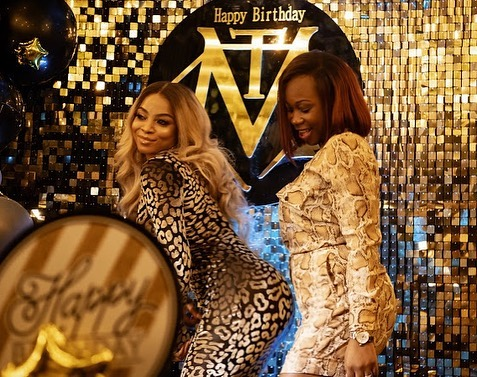 Photos from Toke makinwa 36th birthday party