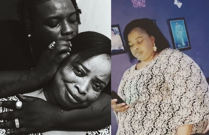𝐈 love you mom – Barry Jhay appreciates mother in lovely Instagram post