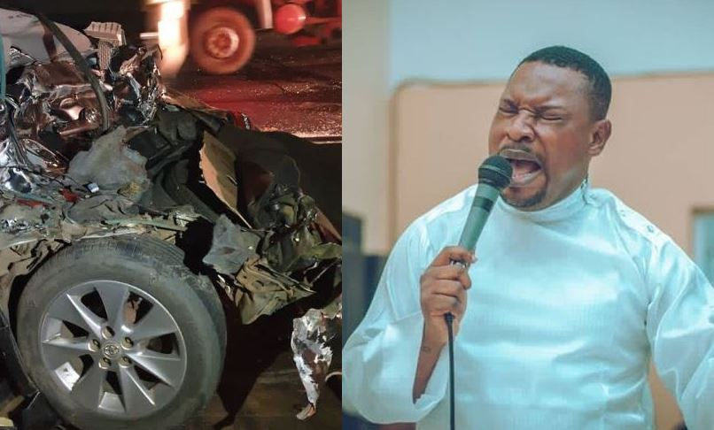 Singer Dare Melody Survives car accident (Video)