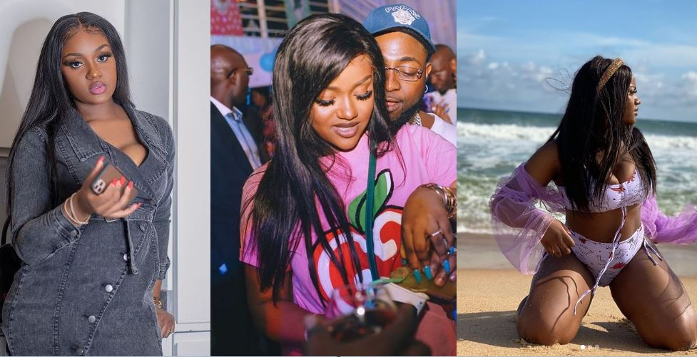 Chioma Screams as she celebrates Davido 28th birthday