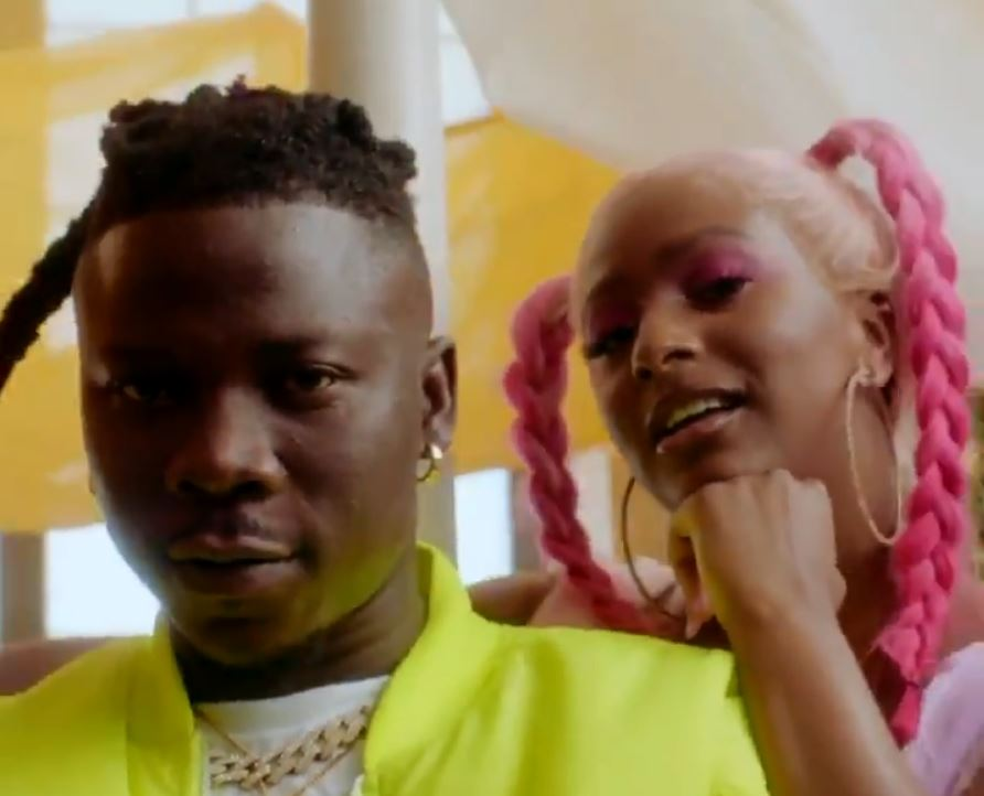Dj Cuppy releases snippet of Karma video ft Stonebwoy