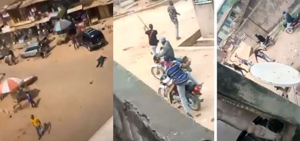 Happening now: Heavy fight in Sabo, Shagamu in Ogun, One dead