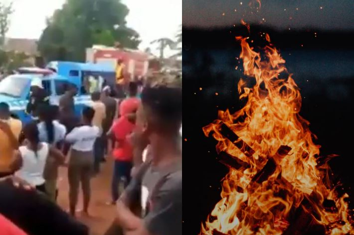 WAHALA! Married man sets himself and side chic ablaze in Benue