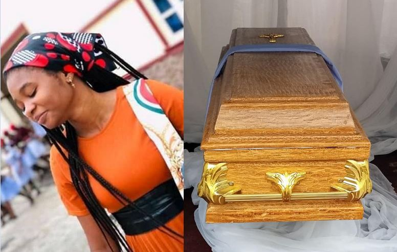 Final year student of anambra state university who died in road accident laid to rest