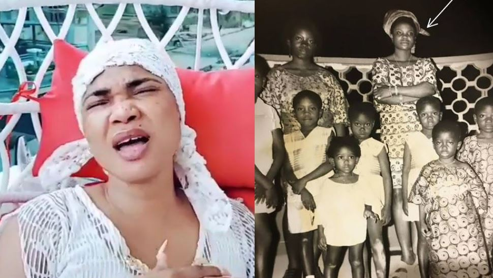 Iyabo Ojo shares throwback photo and burial date of late mother, Victoria Fetuga