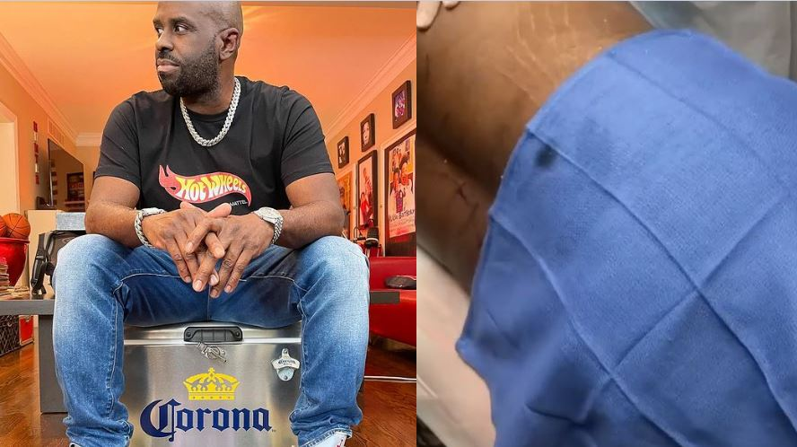 Trending: Viral video of Funk Flex getting liposuction operation on IG spark reactions