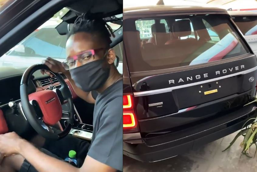 Mr Eazi buys himself a Range Rover as Christmas gift