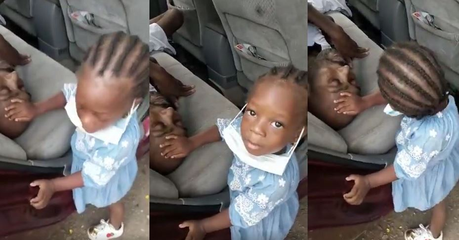 Heartfelt video of a little girl praying for her dad ahead of a kidney transplant