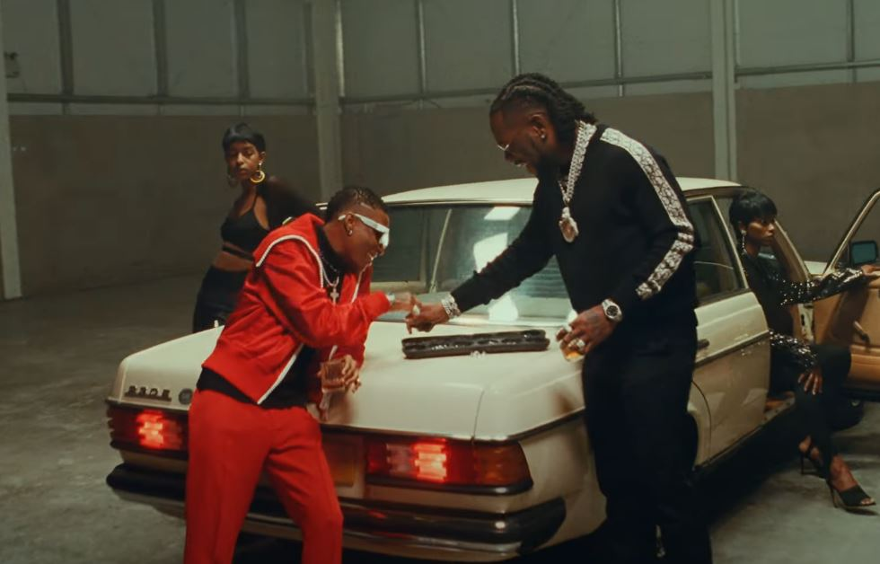 Watch Wizkid – Ginger (Official Video) ft. Burna Boy