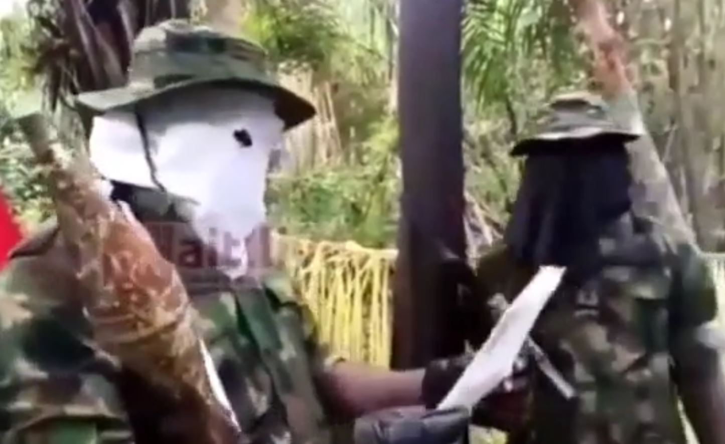 Video: Niger Delta Militants threaten to destroy infrastructures in Abuja and Lagos