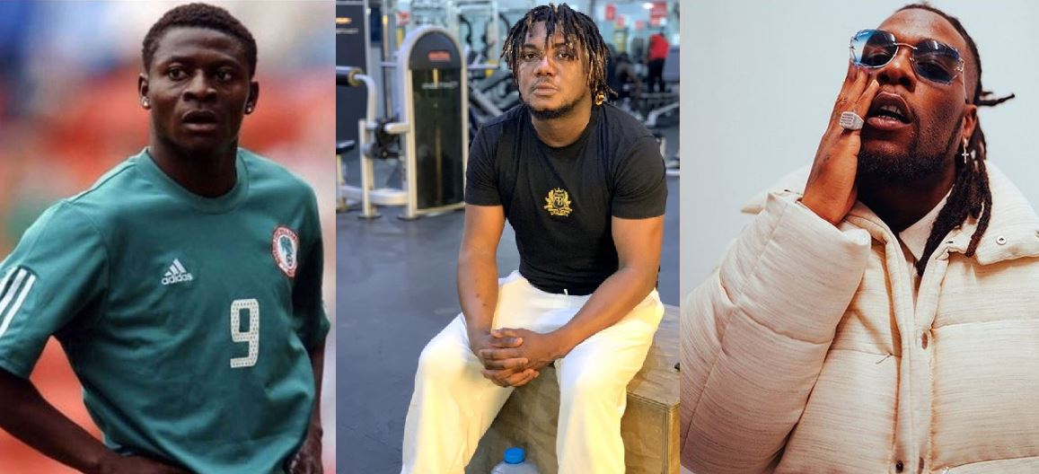 Obafemi Martins, Burna Boy & CDQ beef: Twitter reacts